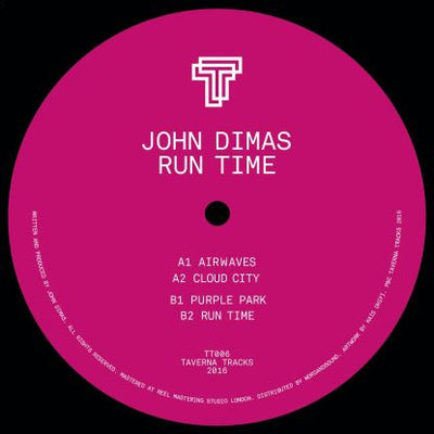 John Dimas - Run Time - Unearthed Sounds