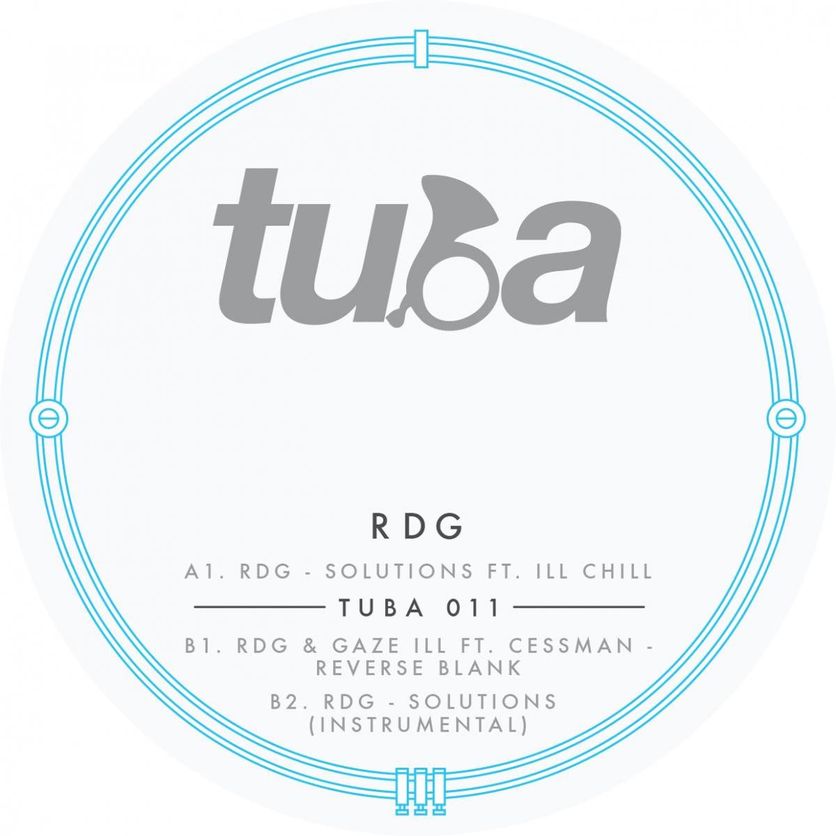 RDG - Solutions (feat. Ill Chill) , Vinyl - Tuba Records, Unearthed Sounds
