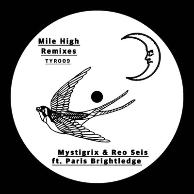 Mystigrix & Reo Seis ft Paris Brightledge - Mile High Remixes EP [180g Vinyl] - Unearthed Sounds