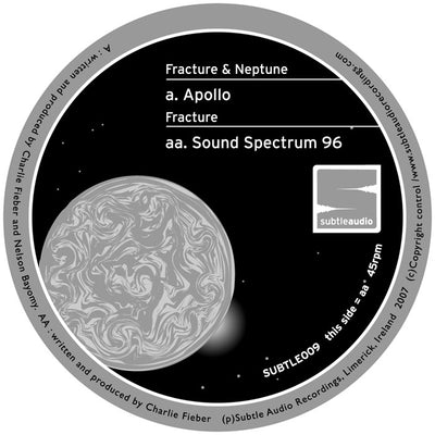 Fracture & Neptune - Apollo / Sound Spectrum 96 - Unearthed Sounds, Vinyl, Record Store, Vinyl Records
