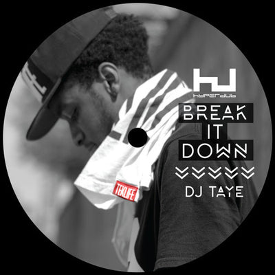 DJ Taye - Break It Down - Unearthed Sounds, Vinyl, Record Store, Vinyl Records