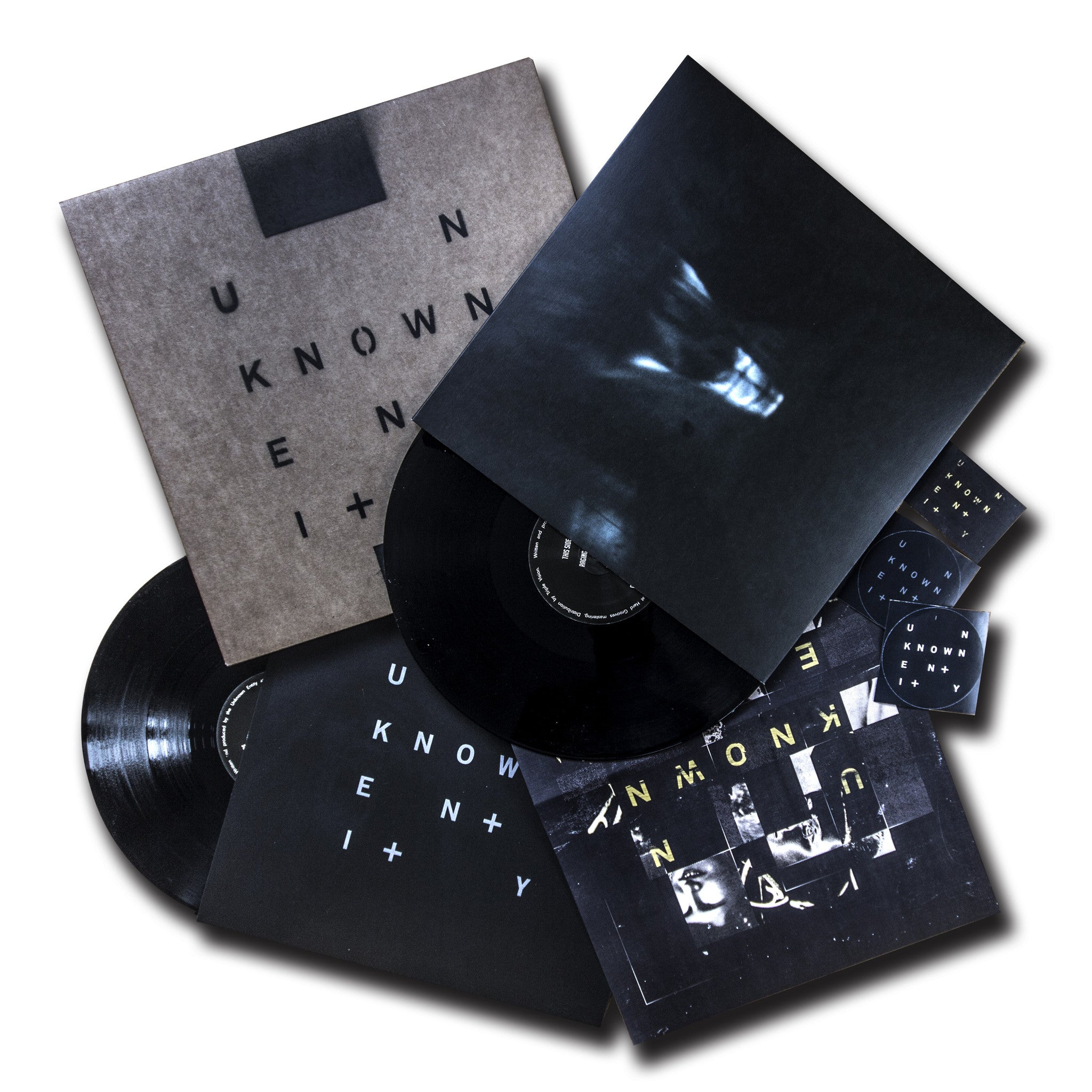 Unknown Entity - Unknown Entity Pack incl. UE001/2, dl card, stickers , Vinyl - Unknown Entity, Unearthed Sounds