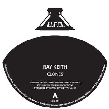 Ray Keith - Clones // Dub Clash , Vinyl - UFO, Unearthed Sounds