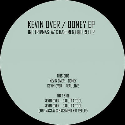Kevin Over - Boney , Vinyl - Underground Audio, Unearthed Sounds