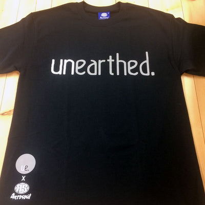 Unearthed x Aerosoul (Black) Collaboration Heavy Blend T-Shirt - Unearthed Sounds