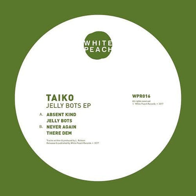 Taiko - Jelly Bots , Vinyl - White Peach, Unearthed Sounds