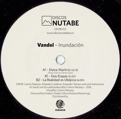Vandel - Inundacion - Unearthed Sounds