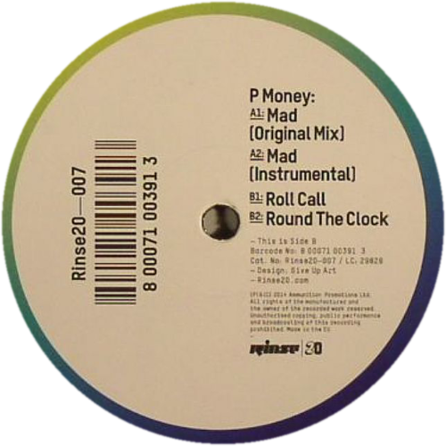 P Money - Mad - Unearthed Sounds