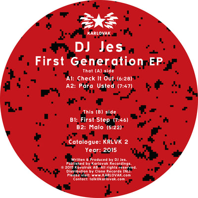 DJ Jes - First Generation - Unearthed Sounds