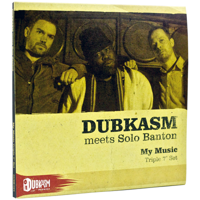 "Dubkasm Meets Solo Banton - My Music [Triple 7"" Set] - Unearthed Sounds"
