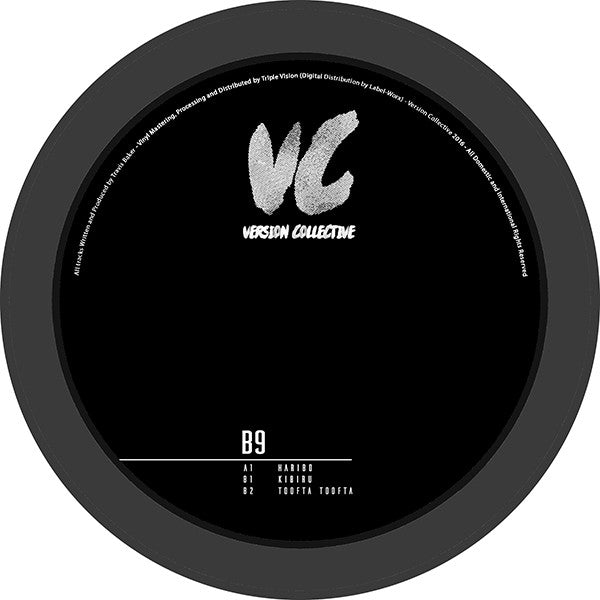 B9 - VCV001 , Vinyl - Version Collective, Unearthed Sounds