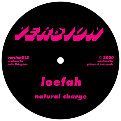 Loefah - Natural Charge / D1 - Crack Bong (Loefah RMX) - Unearthed Sounds