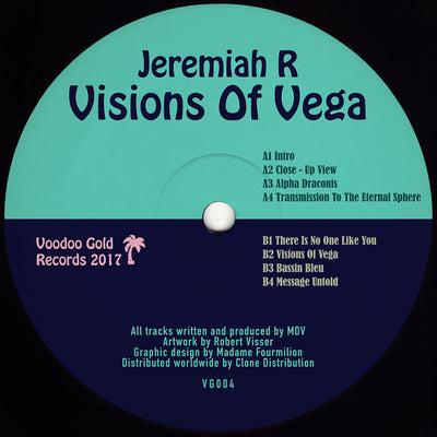 Jeremiah R - Visions of Vega [Repress] - Unearthed Sounds