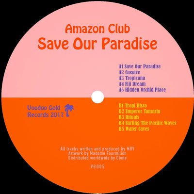 Amazon Club - Save Our Paradise - Unearthed Sounds