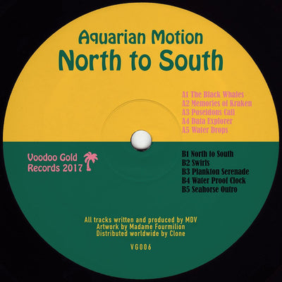 Aquarian Motion - North to South - Unearthed Sounds