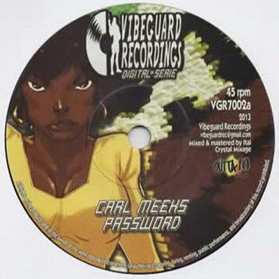 Carl Meeks / El Fata - Password / Digital Reggae