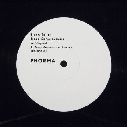 Norm Talley - Deep Consciousnes (Repress) - Unearthed Sounds