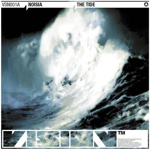 Noisia - The Tide / Concussion , Vinyl - Vision Recordings, Unearthed Sounds