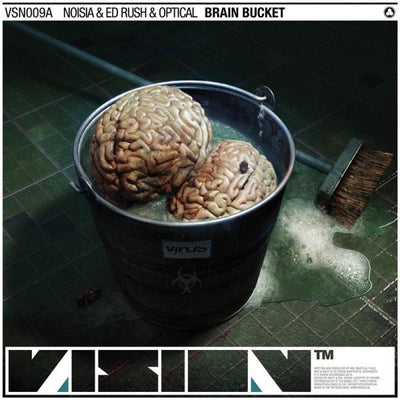 Noisia, Ed Rush, Optical & Spor - Brain Bucket / Falling Through - Unearthed Sounds