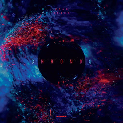 "KOAN Sound - Chronos [Dark Red Marbled 12"" w/ Full Colour Sleeves + DL Code]"