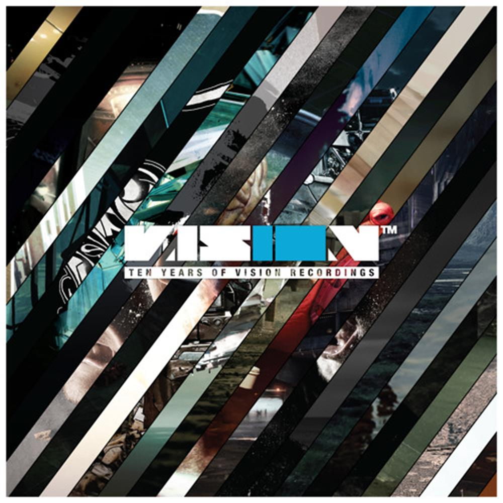 Noisia & More - 10 Years of Vision [CD]