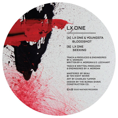 LX One & Youngsta - Bloodshot / LX One - Seeking - Unearthed Sounds