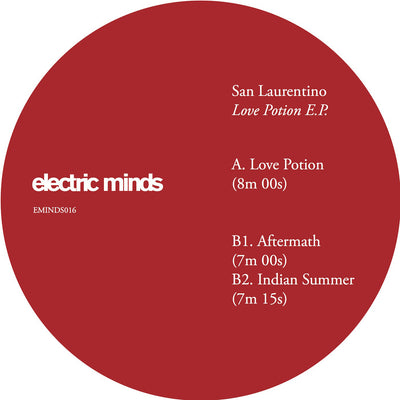 San Laurentino ‎– Love Potion E.P. - Unearthed Sounds
