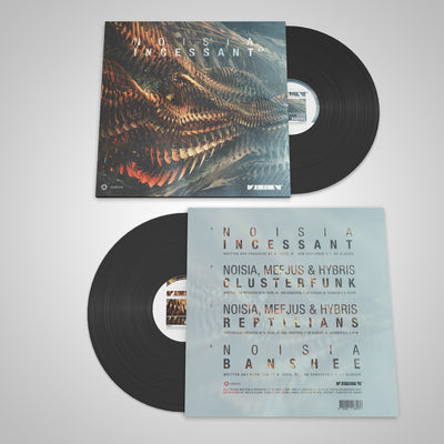 Noisia - Incessant EP - Unearthed Sounds