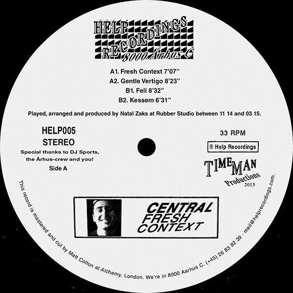 Central - Fresh Context - Unearthed Sounds