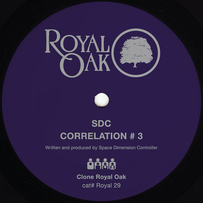 Space Dimension Controller - Correlation #3 , Vinyl - Clone Royal Oak, Unearthed Sounds
