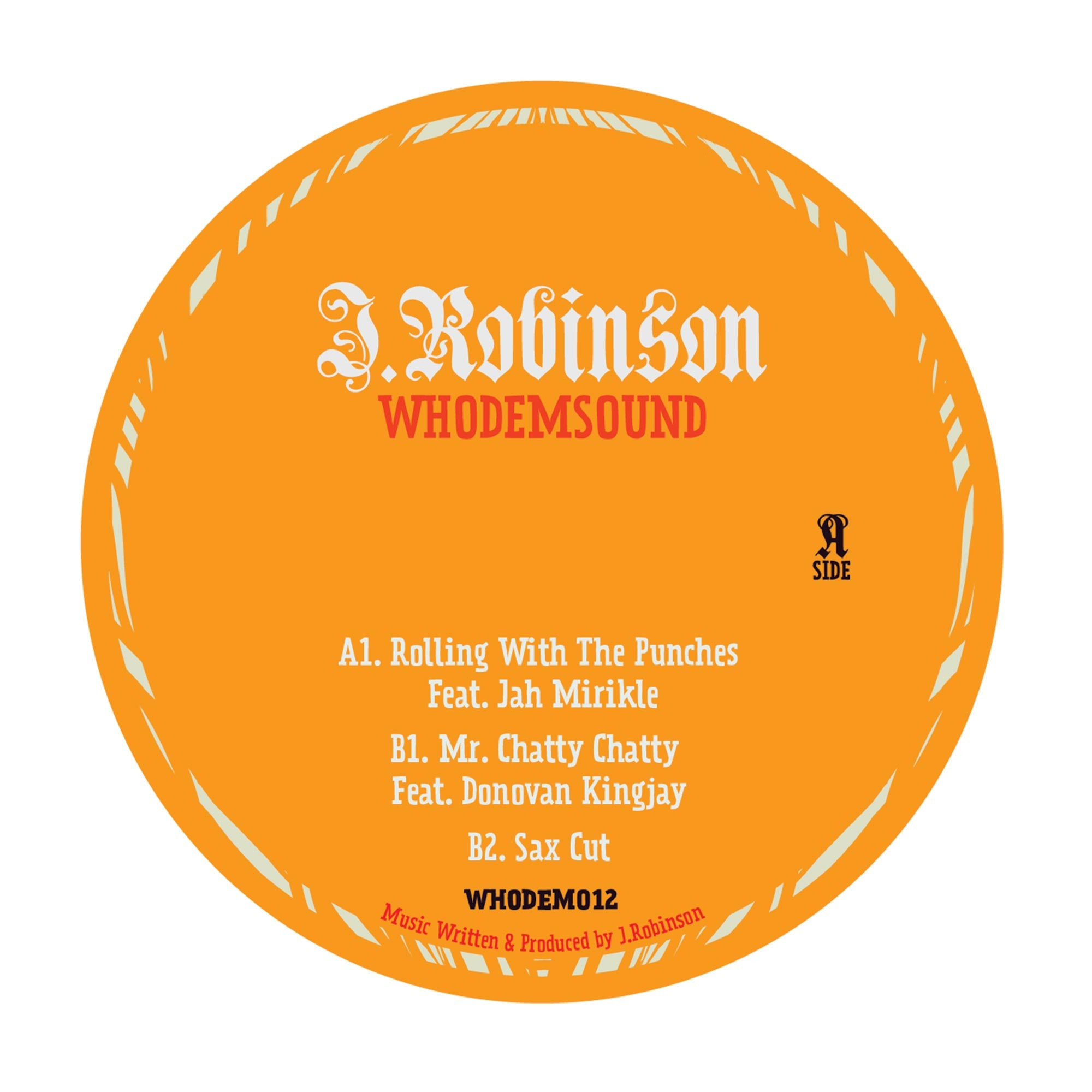 "J.Robinson WhoDemSound feat. Jah Mirikle / Donovan Kingjay [Ltd 10"" Vinyl] , Vinyl - WhoDemSound, Unearthed Sounds"