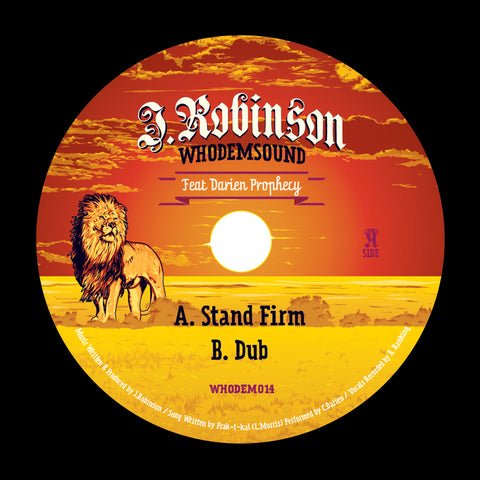J.Robinson WhoDemSound Feat Darien Prophecy 10''