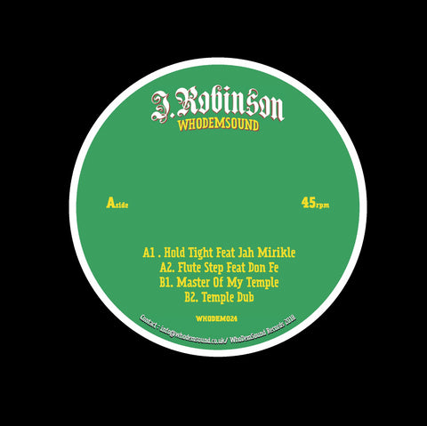 J.Robinson WhoDemSound - Hold Tight EP [180g 12'']