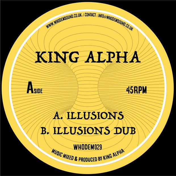 "King Alpha - Illusions / Illusions Dub [7"" Vinyl]"