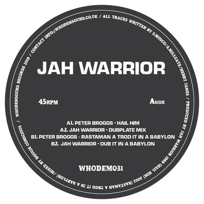 Jah Warrior / Peter Broggs - WHODEM031