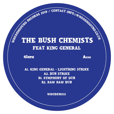 The Bush Chemists / King General 12'' - Unearthed Sounds