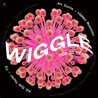 Various Artists (Inc. Corrie / Dub Taylor / Mihai Popoviciu / Daniel Poli) - Wiggle for 25 Years Sampler - Unearthed Sounds