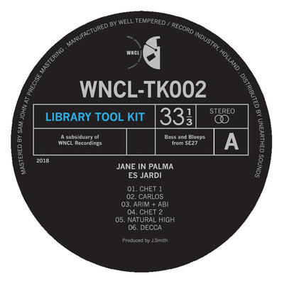 "Jane in Palma - Es Jardin [10"" Vinyl] - Unearthed Sounds"