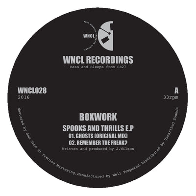 Boxwork - Spooks and Thrills EP - Unearthed Sounds