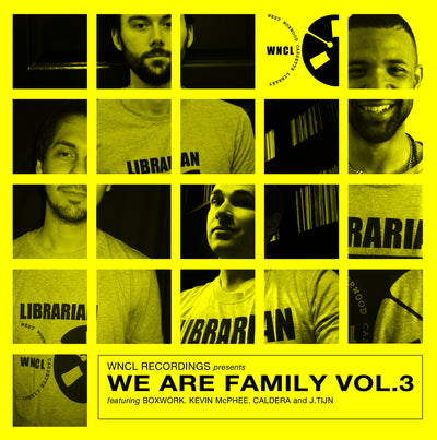 Various Artists - We Are Family Vol. 3 EP - Unearthed Sounds