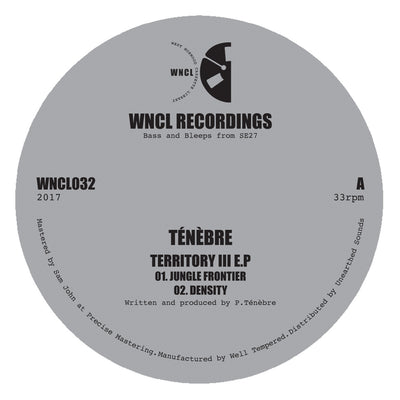 TÉNÈBRE - Territory III EP - Unearthed Sounds