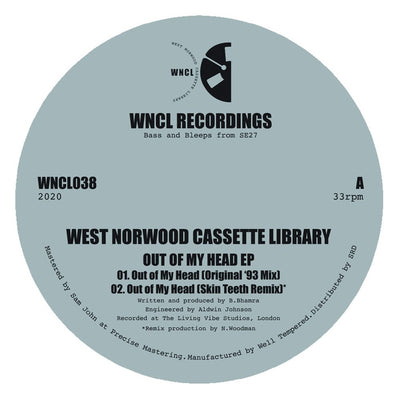 West Norwood Cassette Library - Out of My Head EP - Unearthed Sounds