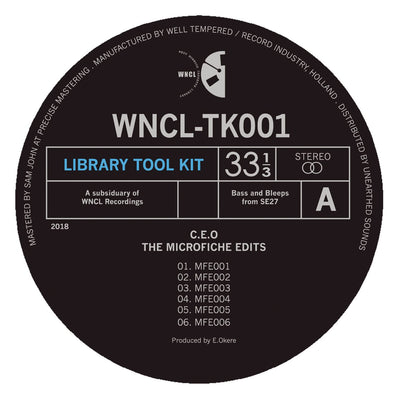"C.E.O - The Microfiche Edits [10"" Vinyl] - Unearthed Sounds"
