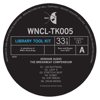 "Denham Audio - The Breakbeat Compendium [10"" Vinyl]"