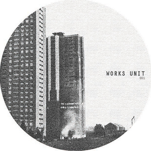Works Unit - Works Unit 001 , Vinyl - Works Unit, Unearthed Sounds