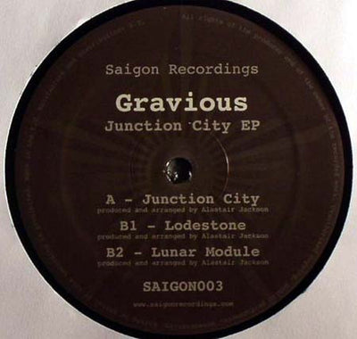 Gravious - Junction City EP - Unearthed Sounds