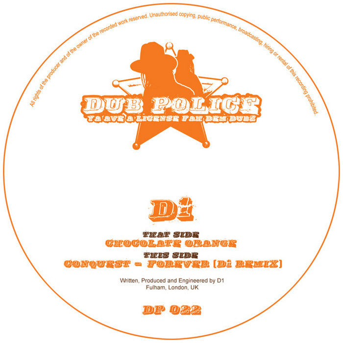 D1 - Chocolate Orange - Unearthed Sounds