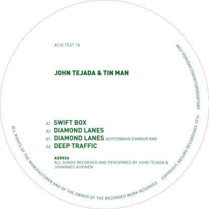 John Tejada + Tin Man