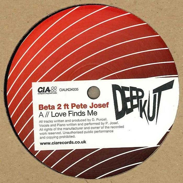 Beta 2 / Zero T - Love Finds Me / Red Hand - Unearthed Sounds