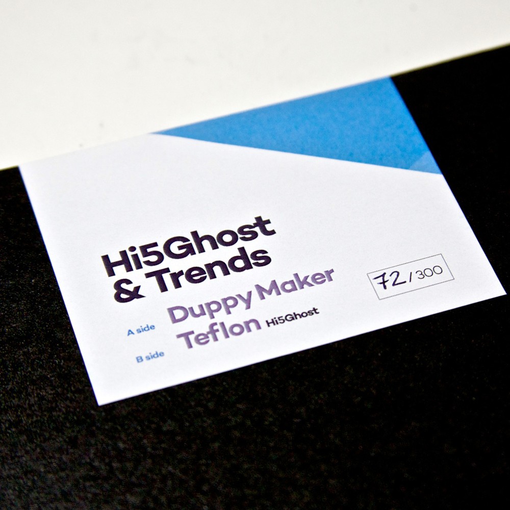 Hi5Ghost & Trends - Duppy Maker / Teflon - Unearthed Sounds